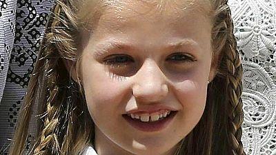 La princesa de Asturias cumple 10 años
