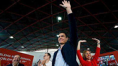 """Pedro Sánchez en Cataluña: """"La mejor manera de defender la Constitución es reformarla"""""""