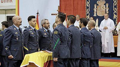 Funeral por los tres fallecidos en el accidente de helicóptero