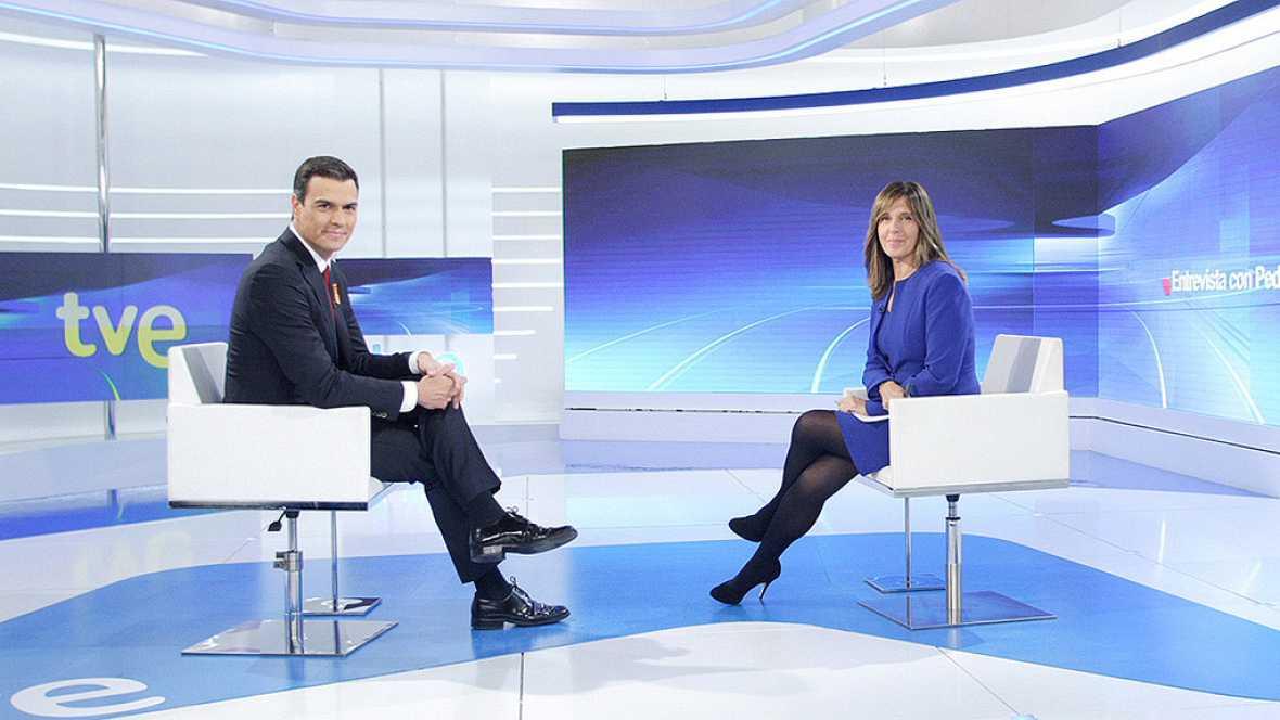 Especial informativo - Entrevista a Pedro Sánchez en TVE