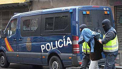 """Detenidos tres presuntos yihadistas dispuestos a atentar de forma """"indiscriminada"""" en Madrid"""
