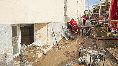 Cuatro ancianas muertas por inundaciones en Lleida