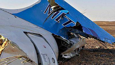 Los expertos apuntan a que el avión ruso pudo perder la cola cuando volaba a unos 9.000 metros de altura