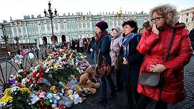 San Petersburgo llora a las víctimas del avión siniestrado en Egipto
