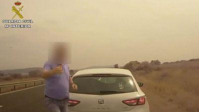Detienen a seis miembros de una banda dedicada a robos en carreteras