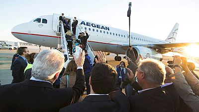 Parten a Luxemburgo desde Grecia los primeros refugiados dentro del plan de reubicación de la UE