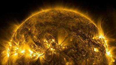 La NASA hace público un vídeo del Sol en 4K