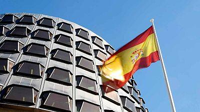 El Constitucional permite que el Parlament debata la moción independentista