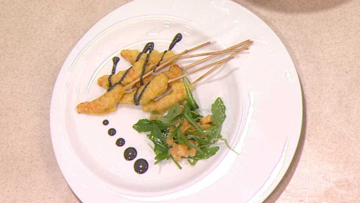 Cocina con sergio tempura de langostinos con mahonesa de - Cocina con sergio pepa ...