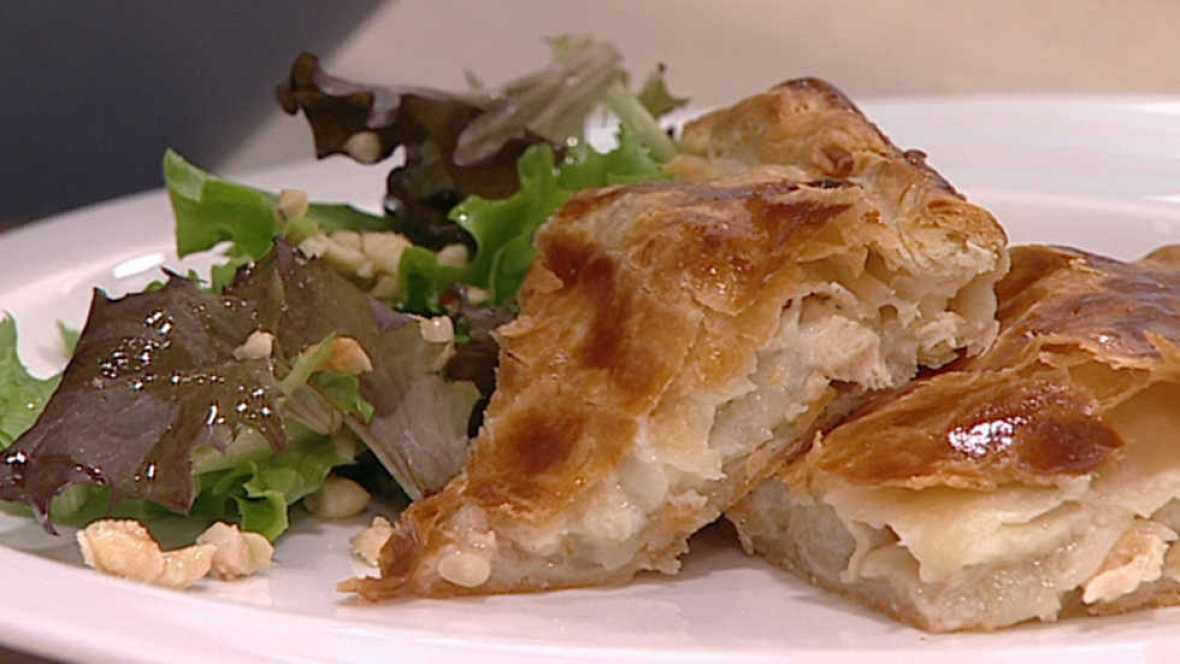 Cocina con sergio ensalada de pollo al queso azul - Cocina con sergio pepa ...