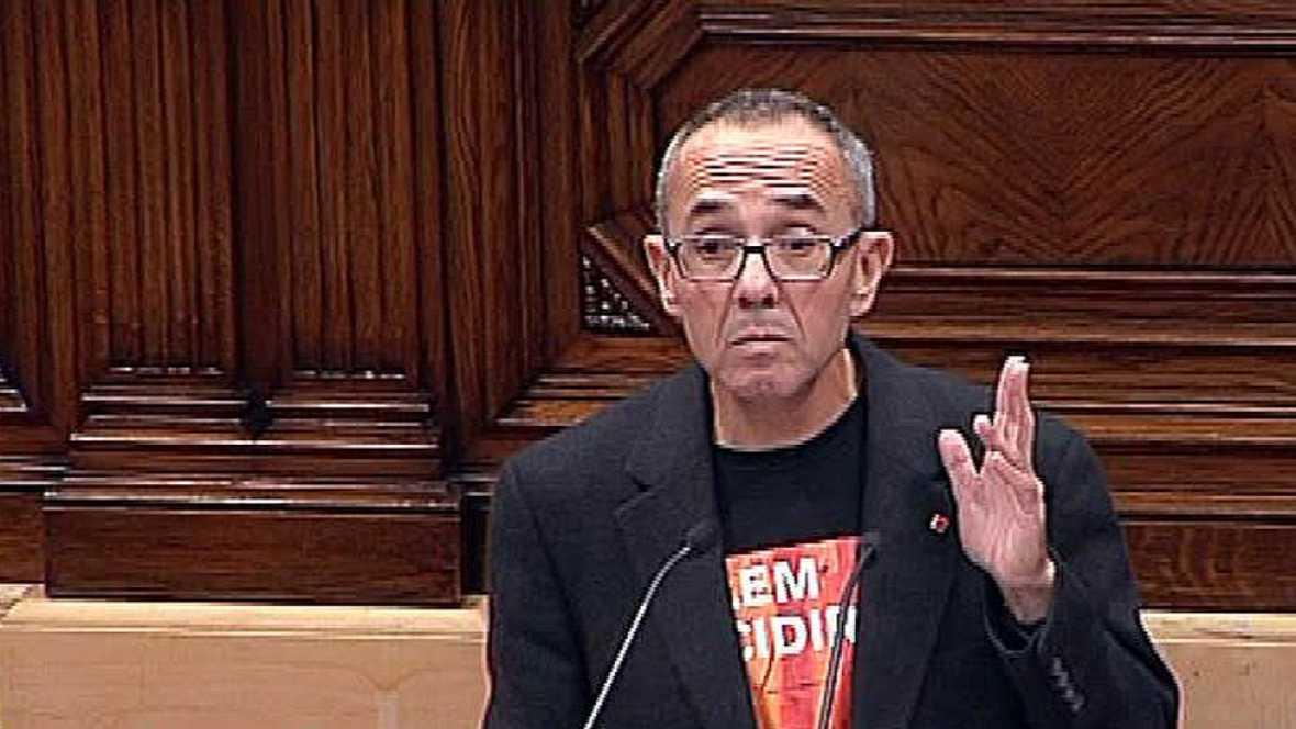 Coscubiela, de Catalunya Sí que es Pot, acusa al resto de grupos de hacer política partidista de búnker
