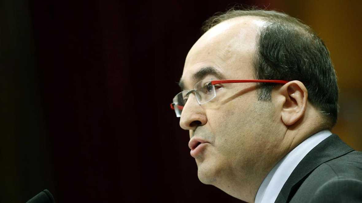 """Iceta (PSC) advierte de que desarrollar el acuerdo independentista  si el TC lo suspende """"no traerá consecuencias buenas"""""""