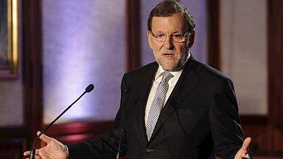 """Rajoy: """"Aquí vamos todos juntos porque España es cosa de todos, pensemos como pensemos"""""""