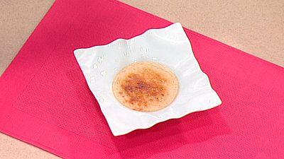 Crema de pera caramelizada