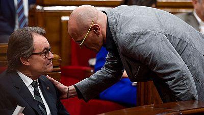 Romeva rechaza la propuesta de la CUP para ser investido presidente