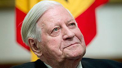 Muere el excanciller de Alemania Helmut Schmidt a los 96 años