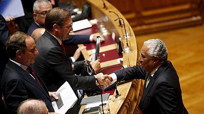 La izquierda portuguesa derriba el gobierno de Passos Coelho
