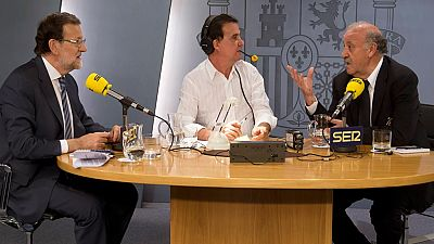 """Del Bosque: """"En la selección presumimos de buena convivencia y tenemos muchos catalanes"""""""