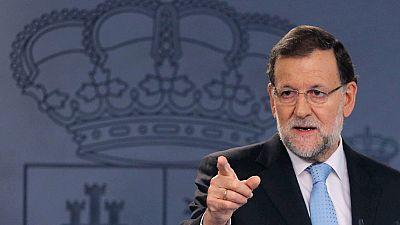 """Rajoy, sobre el recurso ante el TC: """"Pretenden acabar con la democracia y no lo voy a permitir"""""""