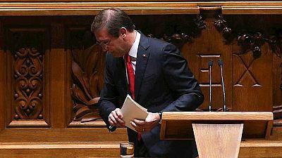 Once días ha durado el gobierno de Pasos Coelho después de que prosperase la moción de censura