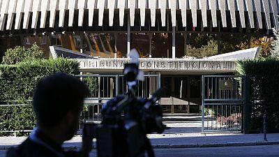 El Tribunal Constitucional suspende la resolución independentista catalana