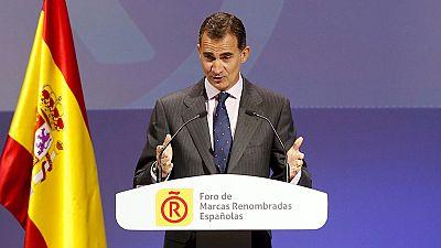 """El Rey, sobre el proceso independentista: """"La Constitución prevalecerá. Que nadie lo dude"""""""