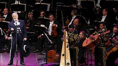 Plácido Domingo celebra sus 55 años de actuaciones con un concierto emblemático