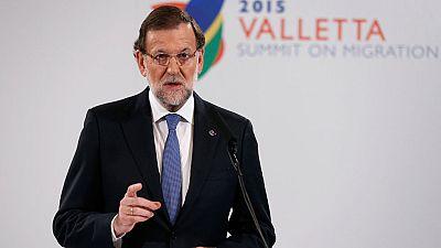 """Rajoy asegura que """"no mirará a otro lado"""" si se incumple el mandato del Tribunal Constitucional"""