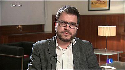 El Debat de La 1 - Entrevista a Pere Aragon�s