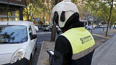 Madrid aplica por primera vez restricciones en el aparcamiento por la contaminación