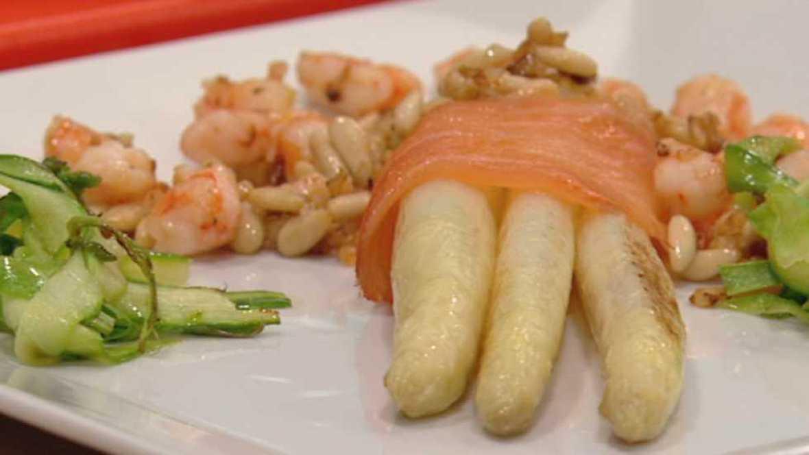 Cocina con sergio esp rragos a la vinagreta de cominos - Cocina con sergio pepa ...