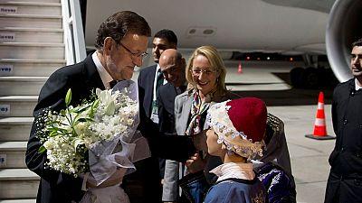 Rajoy pide unidad frente al terrorismo