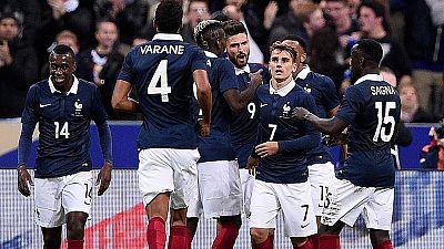 El Inglaterra - Francia, un partido contra el terror