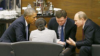 Obama y Putin hablan con la guerra de Siria y los atentados de París como telón de fondo