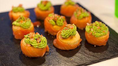 Cupcakes de salm�n mexicano