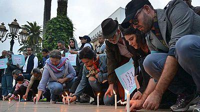 Concentraciones en Rabat y Casablanca en homenaje a las víctimas