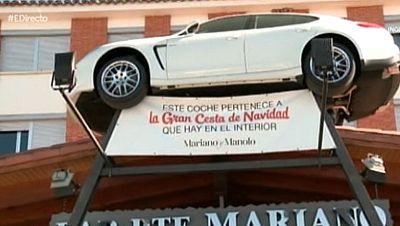 Una cesta de Navidad �valorada en 400.000 euros!