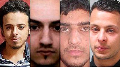 Los terroristas de los atentados de París, uno a uno