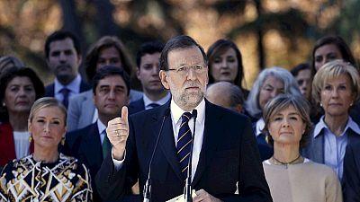Rajoy presenta a sus candidatos por Madrid para el 20D