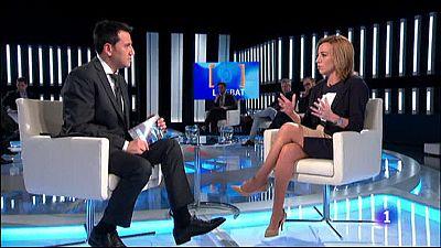 El Debat de La 1 - Entrevista a Carme Chac�n