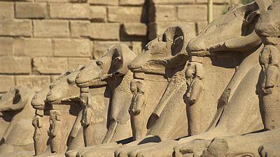 'Espacio en blanco', en el Templo de Karnak - Ver ahora