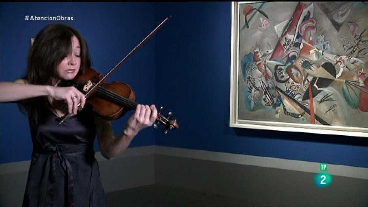 Atención obras - Lina Tur toca para Kandinsky