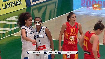 Baloncesto - Clasificación Cto. Europa femenino: Suecia - España - Ver ahora
