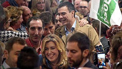 """Sánchez pide el voto para terminar """"con los muros sociales, la indiferencia y las mentiras"""""""