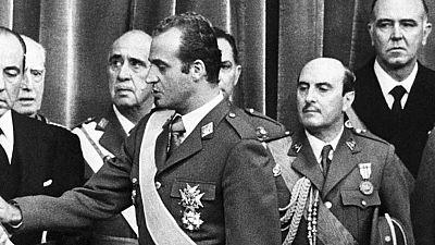 Se cumplen 40 años de la proclamación de Juan Carlos I