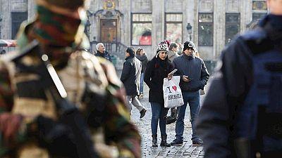 Tercer día de alerta máxima en Bruselas por riesgo de atentado