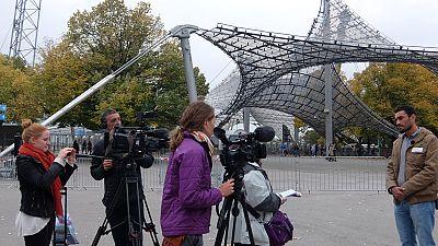 En Portada: Making Of del programa 'Willkommen refugees. El desaf�o'