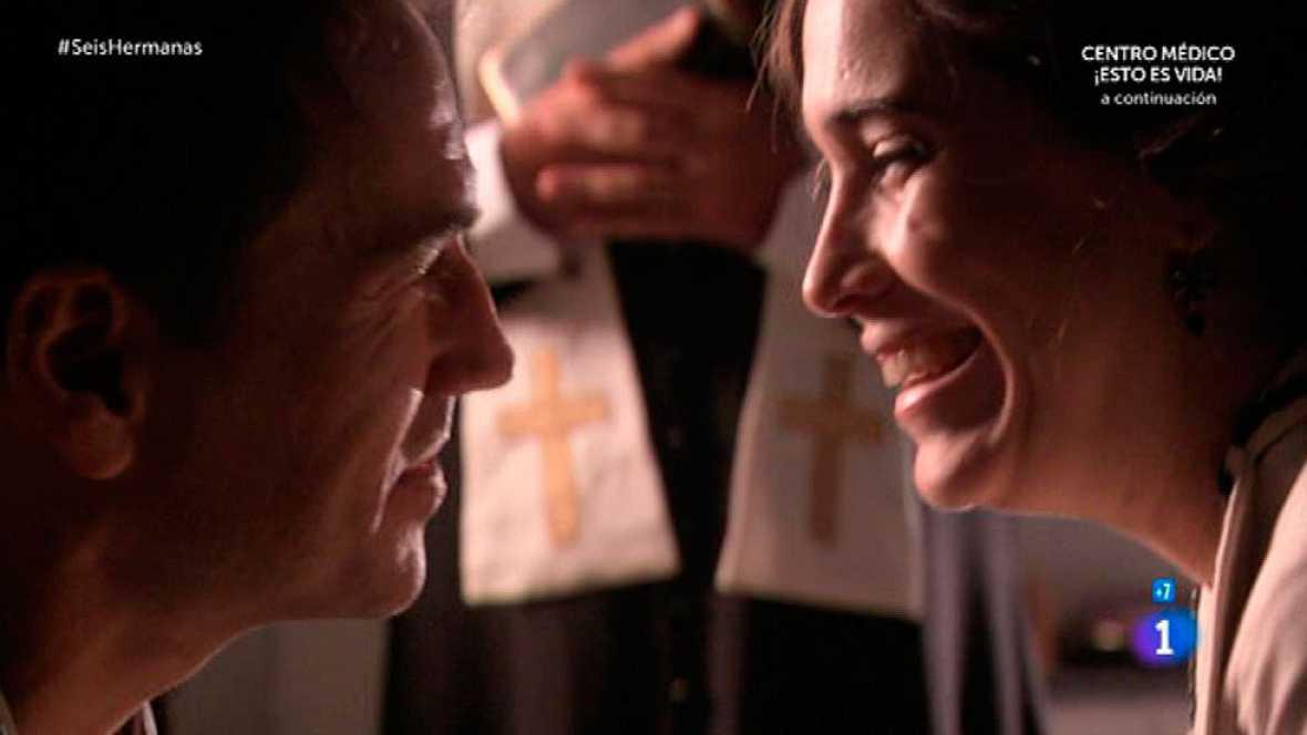 Seis Hermanas - Adela y Germán se casan