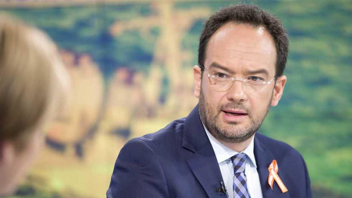 Los desayunos de TVE - Antonio Hernando, portavoz del PSOE en el Congreso de los Diputados - Ver ahora