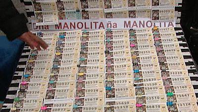 Madrid estudia reducir los vendedores ambulantes de loter�a